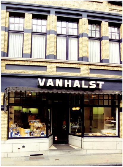 Winkeltje van Pierre Vanhalst