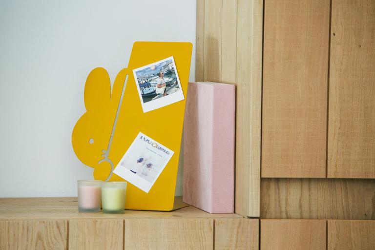 miffy peek-a-boo bookend