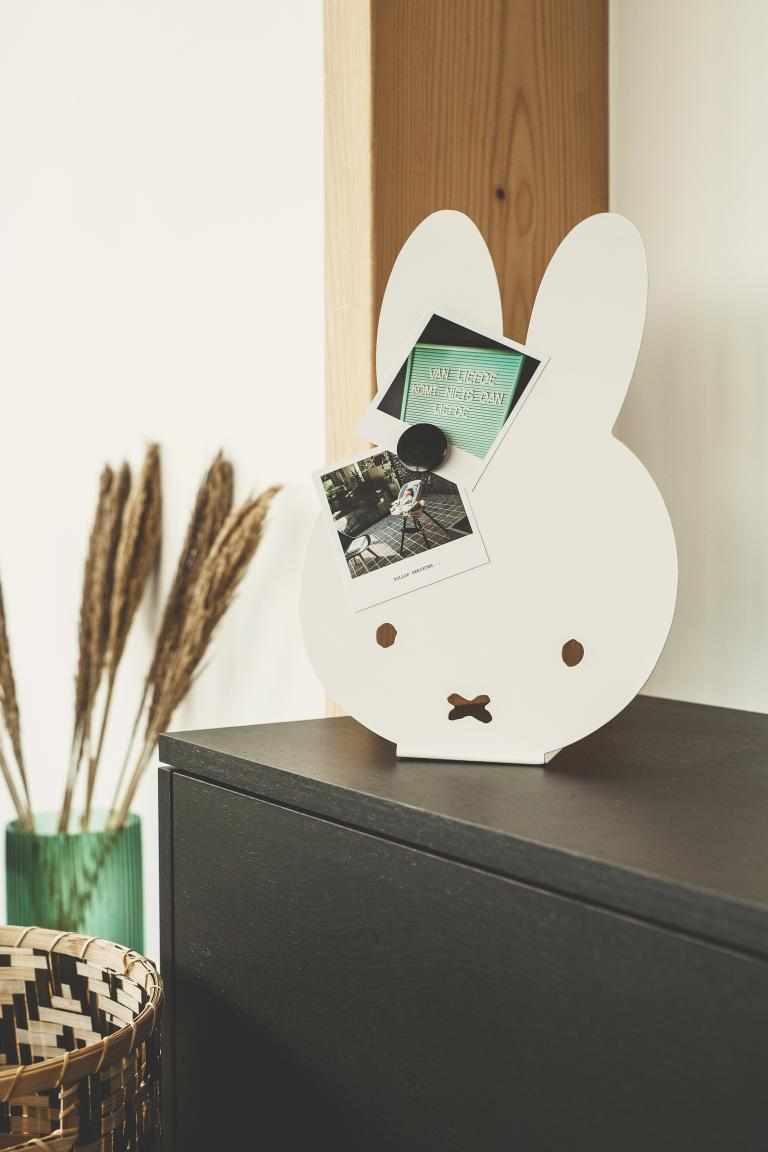 "miffy ""Wall"" Art I 100% Belge I tableau magnétique I debout"