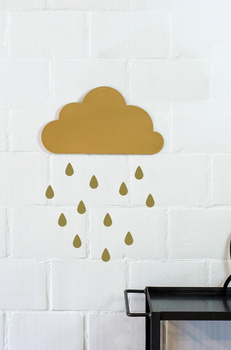 Wall Art | Drops sticker mural