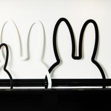 "miffy ""Wall"" Art I 100% made in Belgium I metal ears I medium"
