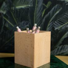 WO+RK BOX II with lid cardholder cork